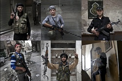 """SYRIA """"Portraits of the Free Syrian Army""""  © Paolo Siccardi"""