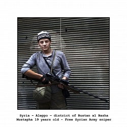 """SYRIA """"Portraits of the Free Syrian Army""""  (Paolo Siccardi)"""