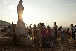 """MEDJUGORJE """"The hill of Miracles""""  © Paolo Siccardi"""