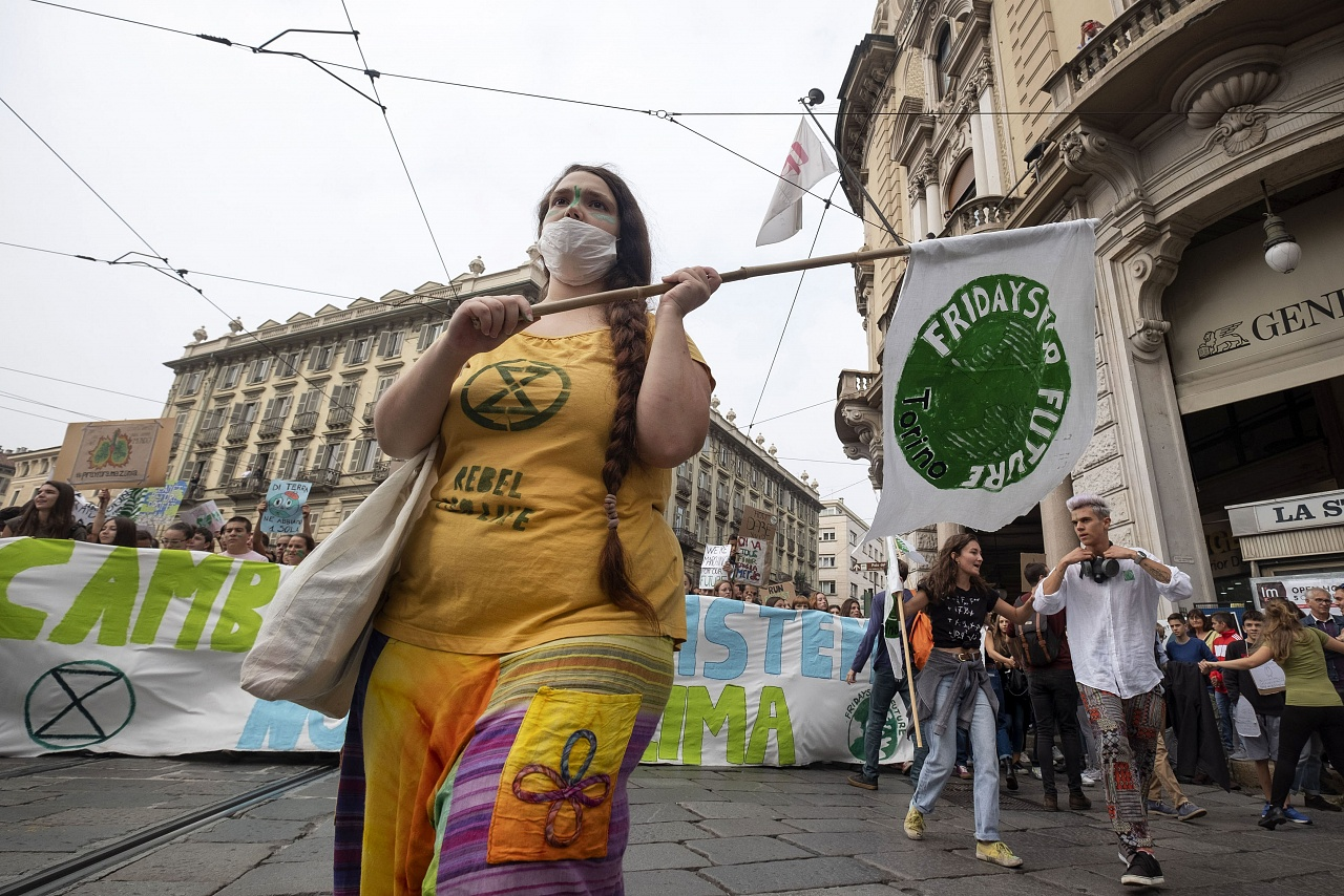 "Manifestazione nazionale a Torino del movimento ""Friday For Future"""