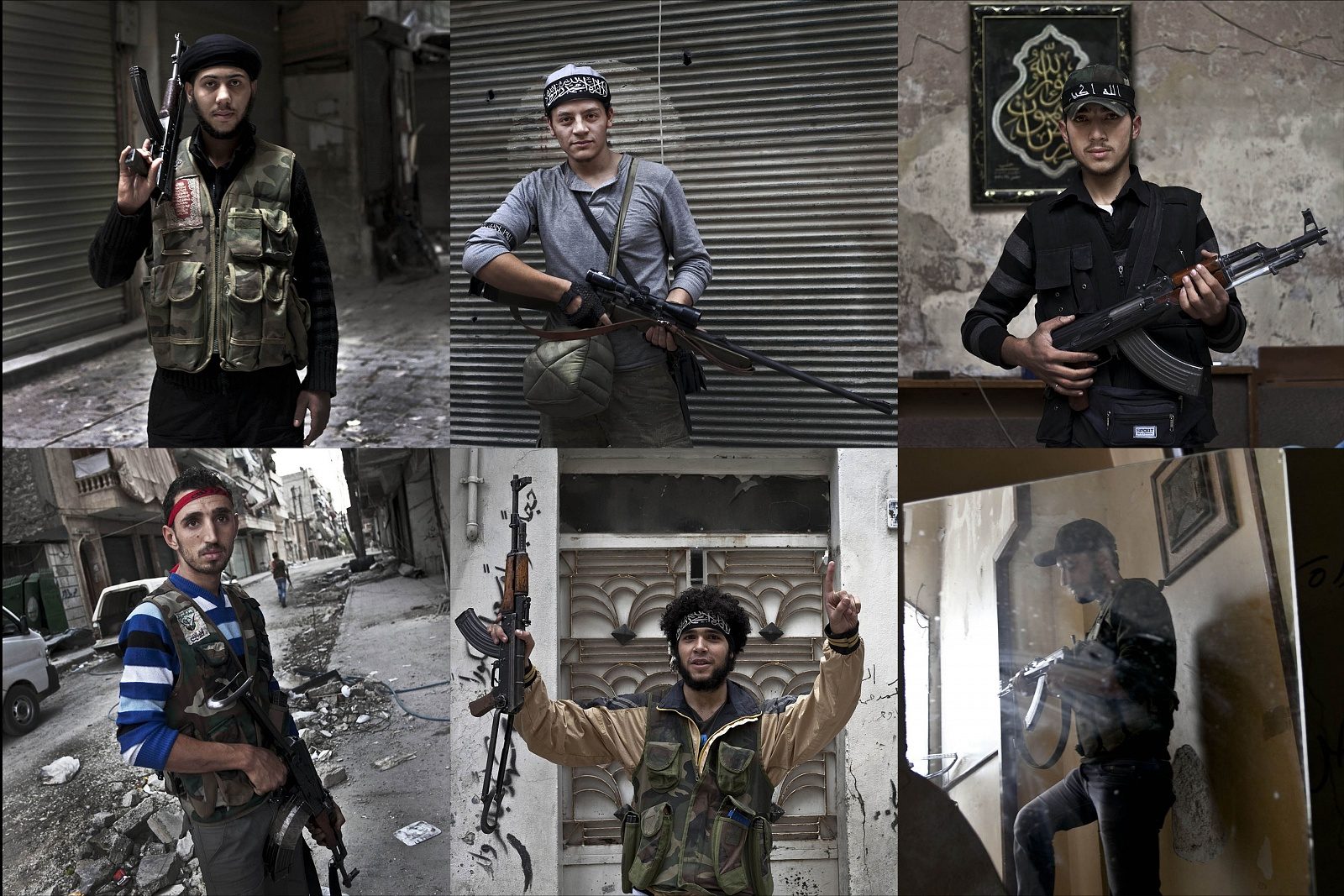 "SYRIA<br>""Portraits of the Free Syrian Army""<br> © Paolo Siccardi"
